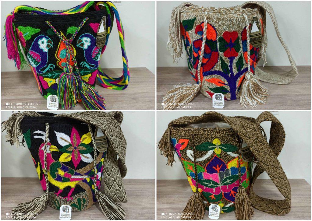 Mochilas Wayuu Tapizada
