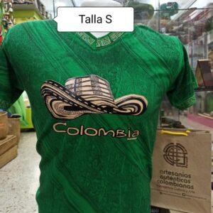 Camisetas típicas de Colombia